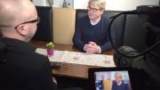 Im Interview mit Gerd Nörenberg (CDU), (Foto: RuhrkanalNEWS)