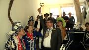 Die Schlüsselübergabe an die Jecken ( Foto:RuhrkanalNEWS)