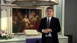 Pfarrer Udo Polenske spricht zu Ostern (Foto: RuhrkanalNEWS)