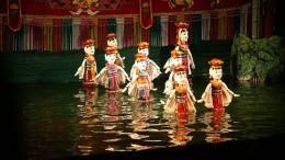 Saigon-Wassermarionetten-Theater