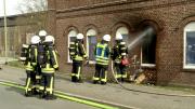 Zimmerbrand im Obdachlosenheim (Foto: RuhrkanalNEWS)