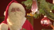 Der Nikolaus besucht den Wochenmarkt (Foto: RuhrkanalNEWS)