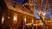 Nostalgischer Weihnachtsmarkt in Hattingen im Schnee