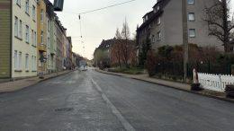 Baugeräte sind verschwunden. Warten auf Freigabe (Foto: RuhrkanalNEWS)