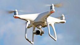 Die RuhrkanalNEWS-Drohne im Einsatz (Foto: Werner Koltes)
