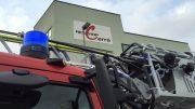 Einsatz im Reschop Carré (Foto: RuhrkanalNEWS)