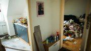 Die vermüllte Wohnung in der Nordstraße (Foto: RuhrkanalNEWS)