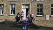 Das VHS-Team, Torben Agethen, Ana Cabello González, Petra Kamburg, Bernd Baumhold. (Foto: Stadt Hattingen)