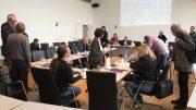 Der Haupt- und Finanzausschuss kurz vor Sitzungsbeginn (Foto: RuhrkanalNEWS)