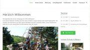 Homepage der Grundschule Holthausen (Screenshot: RuhrkanalNEWS)