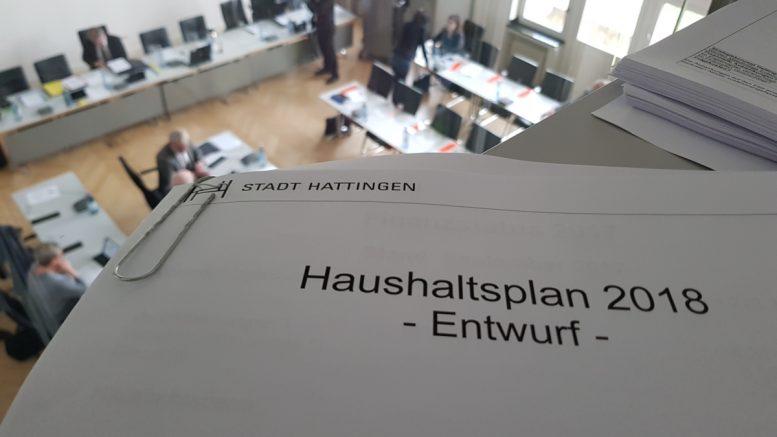 Wenig unerwartetes im Haushaltsentwurf (Foto: RuhrkanalNEWS)