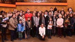 Auch im letzten Jahr begrüßte der Ennepe-Ruhr-Kreis die Eingebürgerten mit Feiern im Schwelmer Kreishaus. Das Foto zeigt die Teilnehmer der Veranstaltung im Dezember./Foto: UvK/Ennepe-Ruhr-Kreis