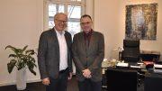 Bürgermeister Dirk Glaser und Peter Bökenkötter.   (Foto: Stadt Hattingen)