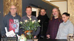 Jörg Herden, Björn Neubauer-Hammerschlag, Chris Hoves, Detlev und Elena Friede (Foto: RuhrkanalNEWS)