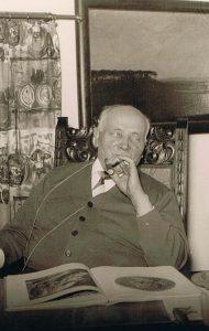 Es werden auch plattdeutsche Texte vom Heimatdichter Otto Wohlgemuth gelesen (Foto: Museum im Bügeleisenhaus Hattingen)