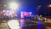 Verkehrsunfall mit einer eingeklemmten Person im Kreuzungsbereich Hüttenstraße/ Am Büchsenschütz (Foto: FW Jens Herkströter)