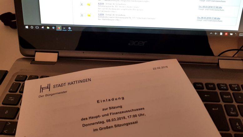 Viele umstrittene Themen auf der Tagesordnung (Foto: RuhrkanalNEWS)