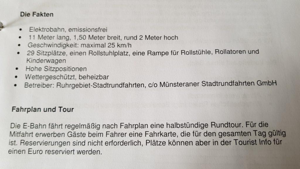 Aus dem Konzept des Stadtmarketingvereins zur Bimmelbahn (Foto: RuhrkanalNEWS)