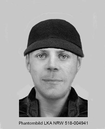 Die PÜolizei such einen Mann der diesen Phantombild ähnlich sieht (Bild: Kreispolizeibehörde Ennepe-Ruhr-Kreis)