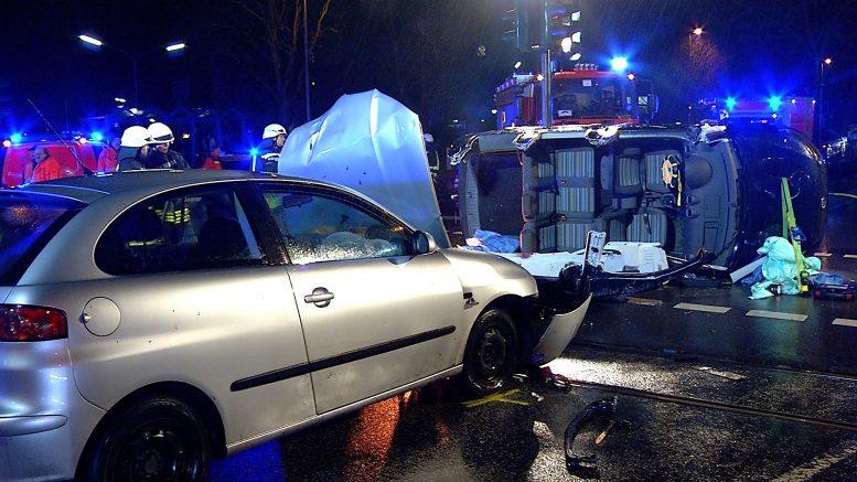 Verkehrsunfall am Reschop (Foto: RuhrkanalNEWS)