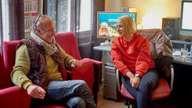 Holger Vockert und Nicole Werner im RuhrkanalNEWS Studio (Foto: RuhrkanalNEWS)