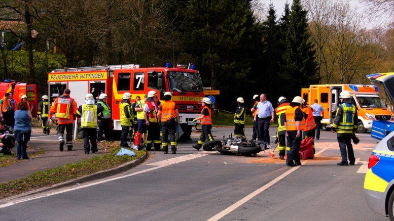 Schwerer Verkehrsunfall im Wodantal (Foto RuhrkanalNEWS)