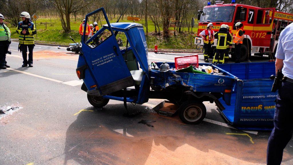 Verkehrsunfall Wodantalstraße4