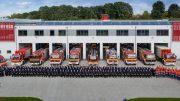 Die Feuerwehr Hattingen feiert (Foto: FW Hattingen)