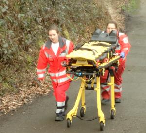 (RuhrkanalNEWS) Rettungsdienst im Einsatz